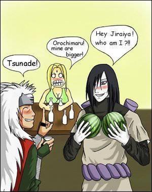 Qui Orochimaru imite-t-il ?