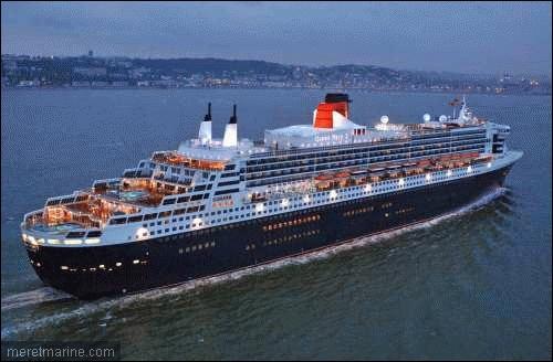 En décembre 2003 les chantiers de Saint-Nazaire terminaient l'un des plus beaux paquebots transatlantiques jamais construits, le Queen Mary II.  Paquebot  vient de :