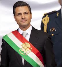 Depuis le 1/12/2012, Enrique Peña Nieto est le nouveau président du Mexique, (ou président de la République). Qui était le président sortant ?