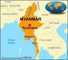 Depuis 1989, quel pays a pris le nom officiel de  République de l'Union du Myanmar  ?