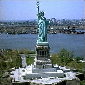 La statue de la Liberté se trouve :