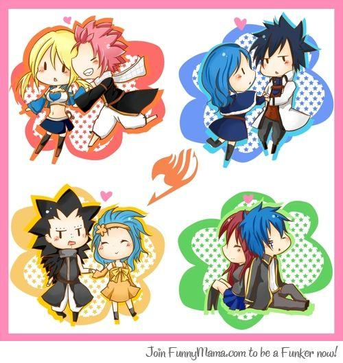 Fairy Tail : Couples