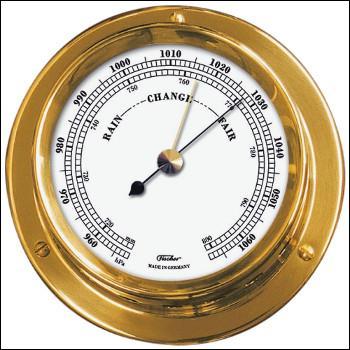 Le baromètre sert à mesurer la ... .