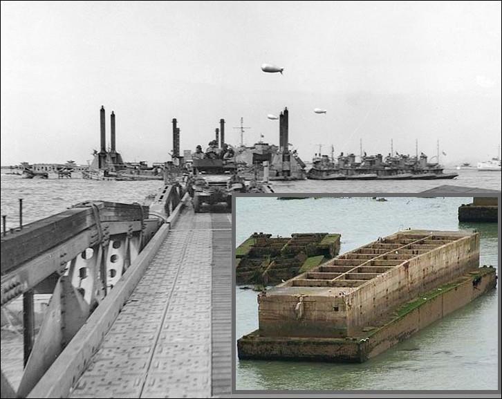 Deux ports artificiels furent assemblés au large des plages du Calvados. Seul celui d'Arromanches sera opérationnel. Pourquoi ?