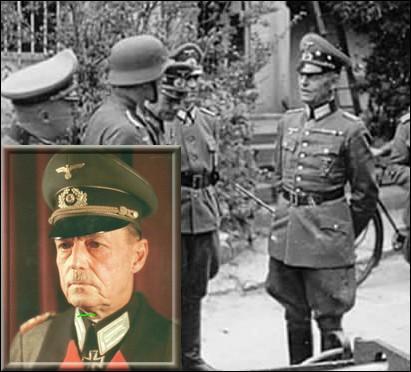 A 4h30 du matin, il annule l'ordre du maréchal Von Runstedt à la SS Panzer division de se mettre immédiatement en route vers le Calvados...