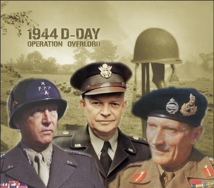 Qui en décembre 1943, est nommé commandant suprême des armées alliées en Europe avec pour principal objectif la réalisation de l'opération  Overlord  ?