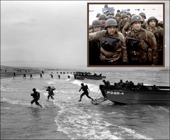 Indispensables pour le débarquement des troupes, ces barges transportant jusqu'à 200 hommes, avaient pour nom...