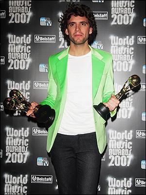 En 2007, à la cérémonie des World Music Awards, Mika a gagné :