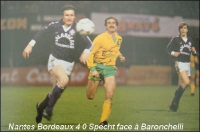 En quelle année le FC Nantes a t-il gagné son dernier titre de champion de France ?