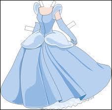 Cette somptueuse robe de bal, toute en légèreté afin de virevolter comme il se doit quand le personnage danse, est celle de ?