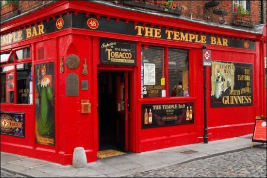 Le Temple bar est un :
