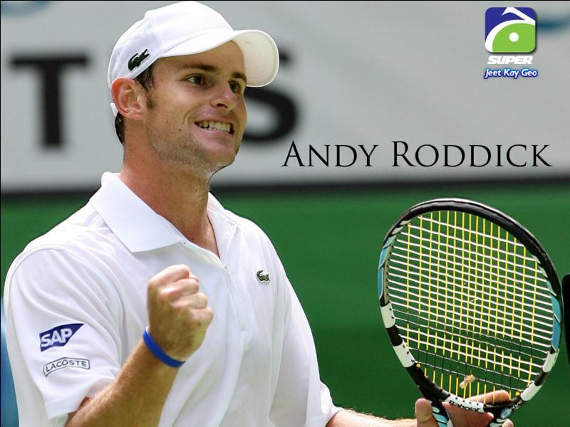 De quelle nationalité est cet ancien joueur de tennis, Andy Roddick ?
