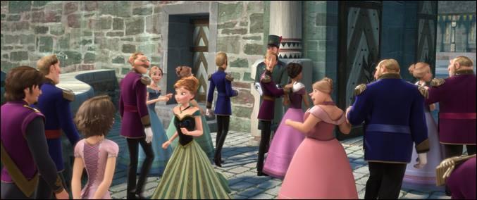 Quelle princesse fait son apparition dans  La Reine des neiges  ?