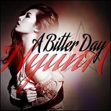 Avec quelle chanteuse chante-t-elle  A Bitter Day  ?