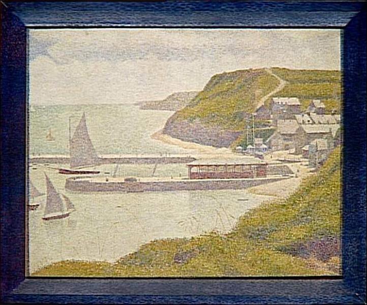 Quel port a énormément inspiré Seurat en 1888 ?