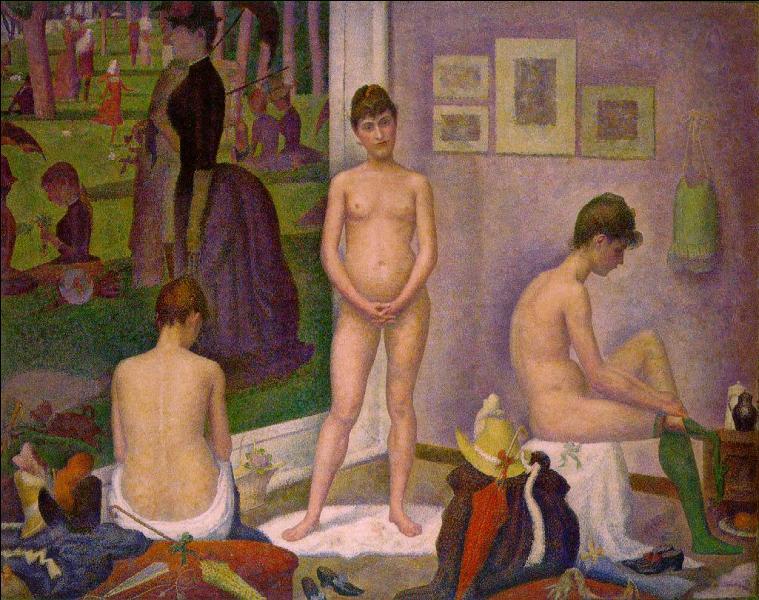 Comment s'appelle ce tableau exposé à la Barnes Foundation de Philadelphie ?