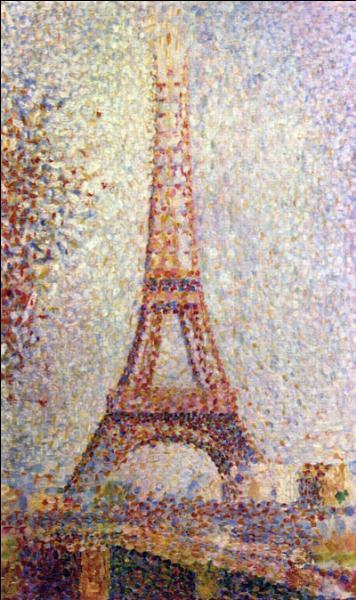 Sous quel nom est connue cette oeuvre peinte en 1889 ?