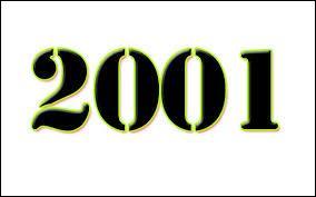 Comment dit-on 2001 (l'année) en anglais ?