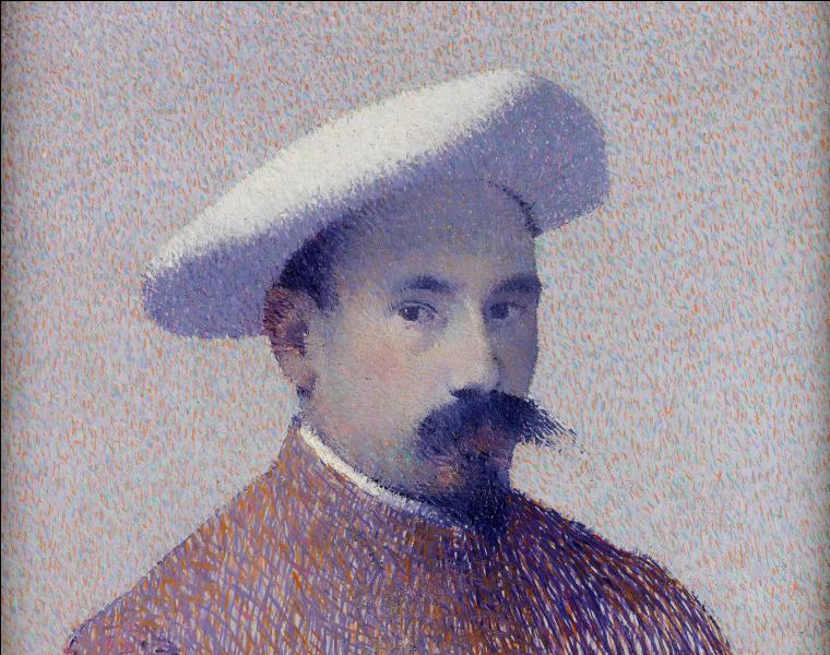 Autoportrait au béret blanc.
