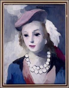 Femme avec un béret.