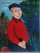 Jeune garçon au béret.