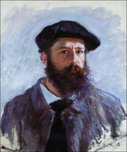 Autoportrait avec un béret.