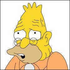 Quelle(s) affirmation(s) est(sont) vraie(s) concernant Abraham Simpson ?