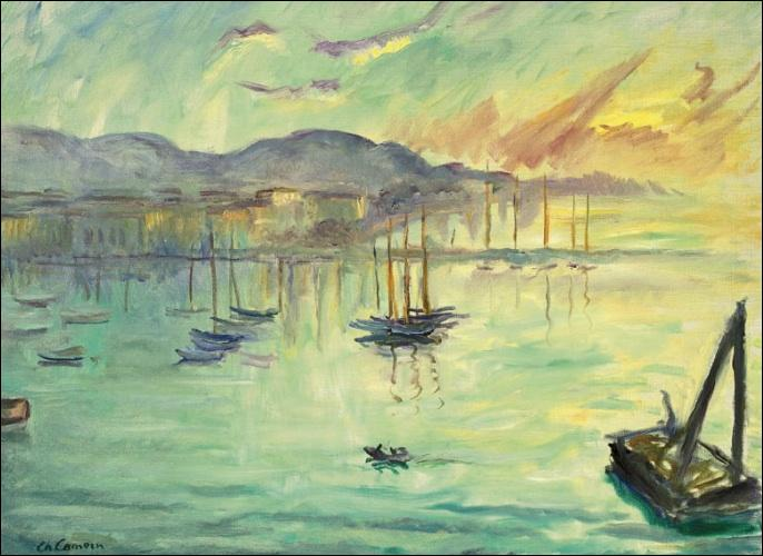 Qui a peint Le port de Cannes ?