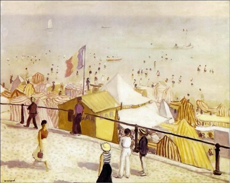 Qui a peint Les sables d'Olonne ?
