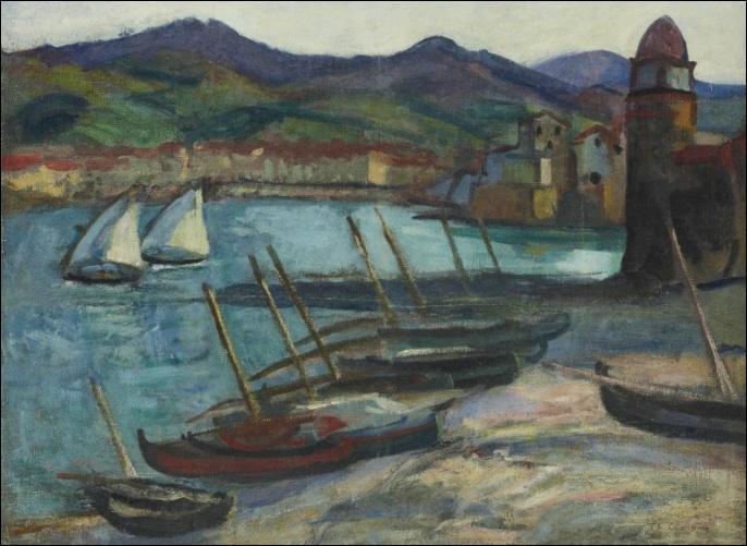 Qui a peint Le port de Collioure ?