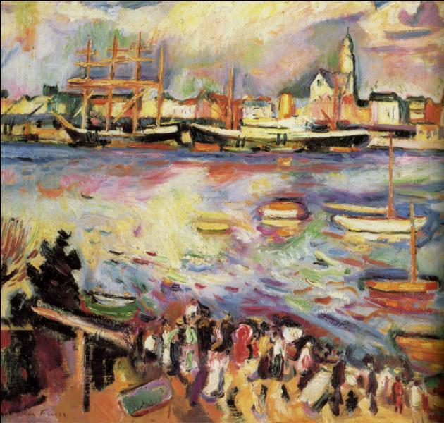 Qui a peint Le port d'Anvers ?
