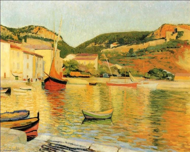 Qui a peint Le port de Cassis ?