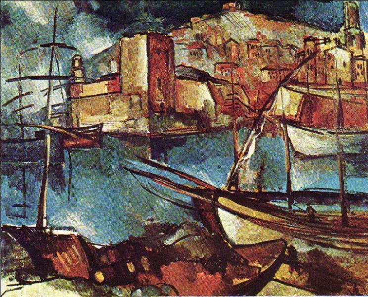 Qui a peint Le vieux port de Marseille ?