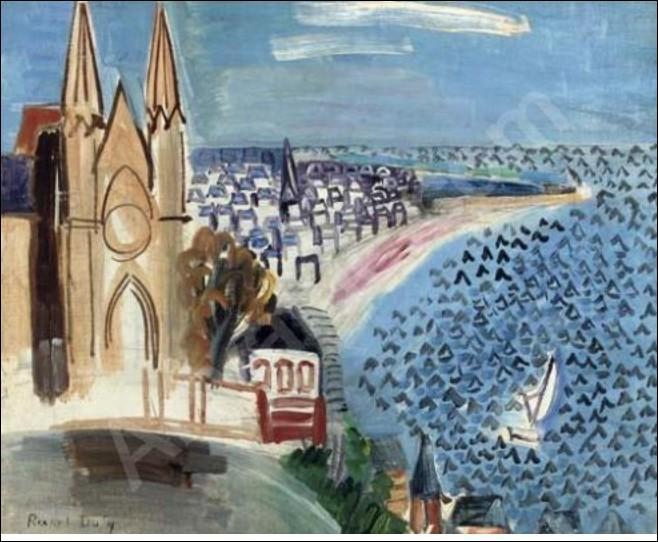 Qui a peint Entrée dans le port du Havre ?
