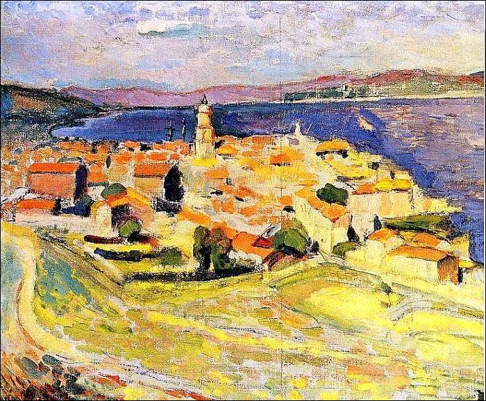 Qui a peint Vue sur Saint Tropez ?