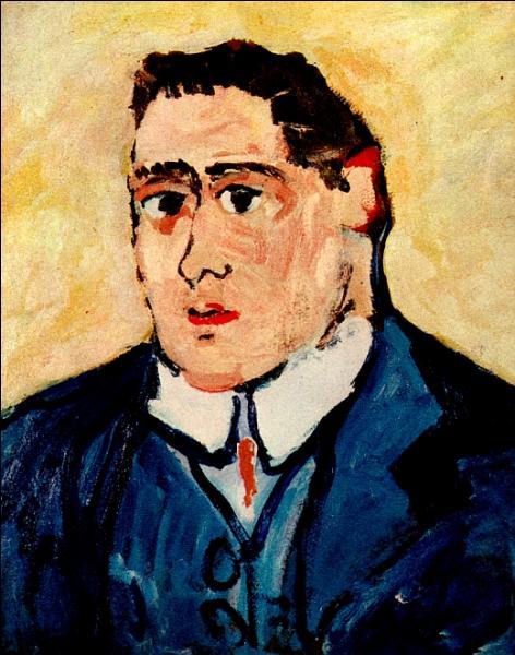 A quel peintre, fauviste et cubiste, également écrivain, doit-on ce portrait de Guillaume Apollinaire ?