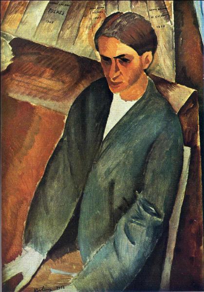 A quel peintre franco-polonais doit-on ce portrait d'André Salmon, poète, romancier et critique d'art, qui fut un des grands défenseurs du cubisme ?