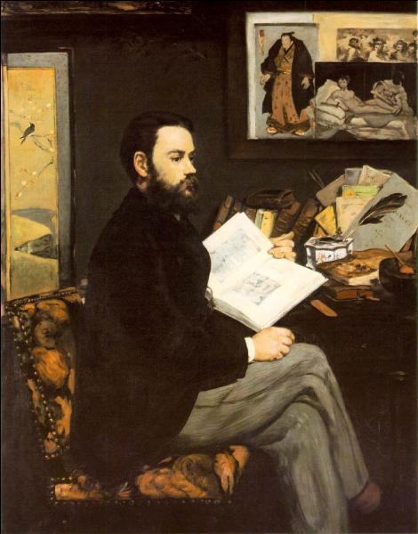 Ce peintre impressionniste réalisa le portrait de son ami Emile Zola en guise de reconnaissance pour le soutien actif qu'il manifestait à son art. Qui est-il ?