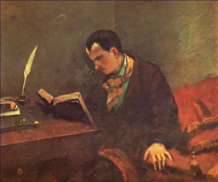 Baudelaire a 26 ans lorsque ce portrait est réalisé vers 1848. Quel peintre, du courant réaliste, en est l'auteur ?