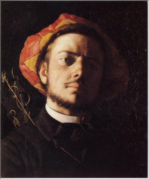 Quel artiste, mort à 29 ans, a peint  Verlaine en troubadour  en 1868 ?