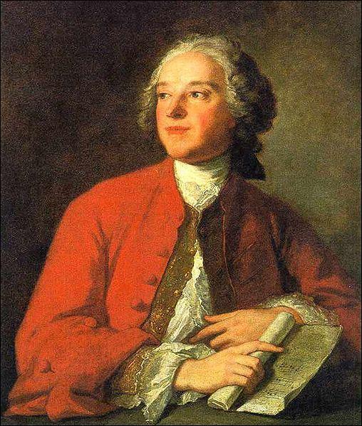Quel portraitiste du 18e siècle a représenté Beaumarchais vers 1755 ?