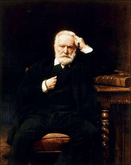 A quel peintre académique du 19e siècle, auteur d'environ deux cents portraits de personnalités de son temps, et qui fut directeur de l'école des Beaux-Arts, doit-on ce portrait de Victor Hugo, réalisé en 1879 ?