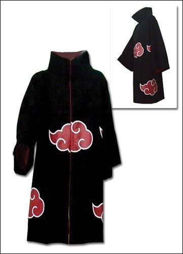Quelle organisation criminelle s'habille d'une robe noir ornée de nuages rouges ?