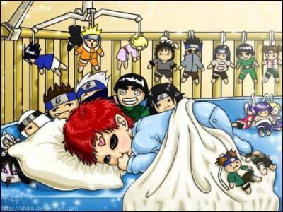 Quelle est la poupée que Gaara n'aime pas (celles qui sont sous son oreiller) ?