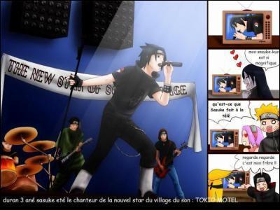 Qui n'est pas content de voir Sasuke passer à la télé ?