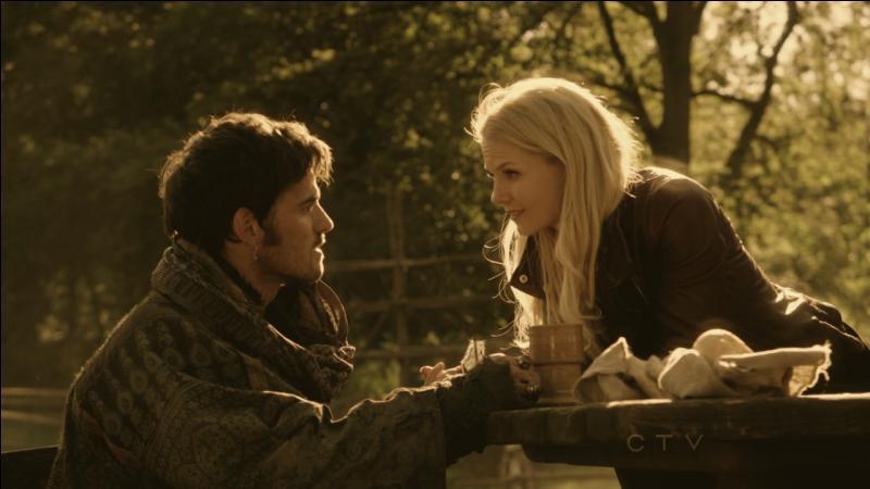 Pour qui Hook se fait-il passer la première fois qu'il rencontre Emma ?