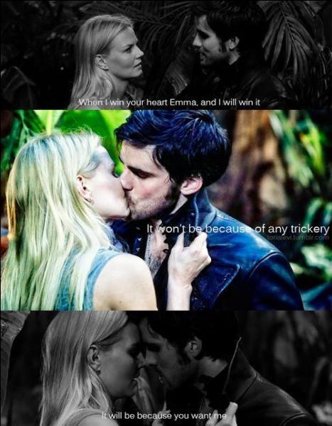 Que dit Hook après le baiser ?