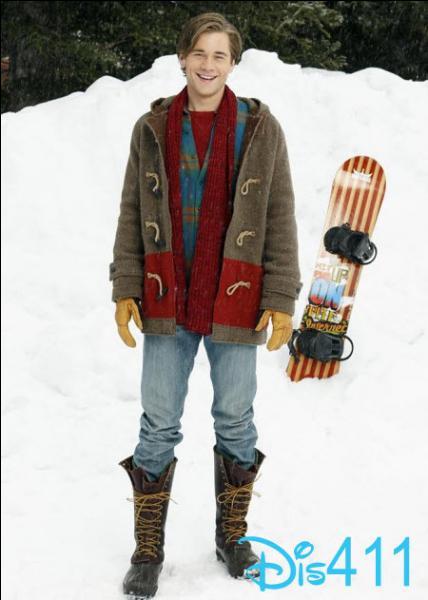 Comment se nomme la figure qu'il a faite avant de tomber et de renoncer au snowboard ?