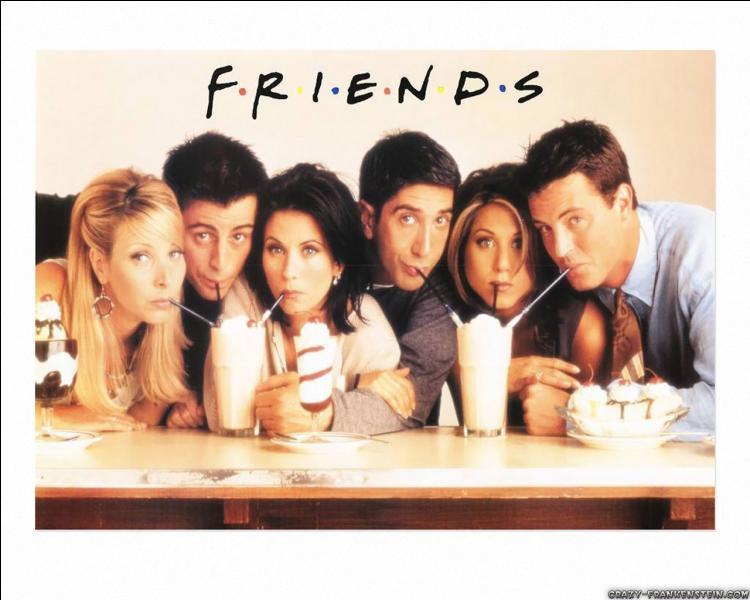 Quels sont les noms des personnages dans  Friends  ?