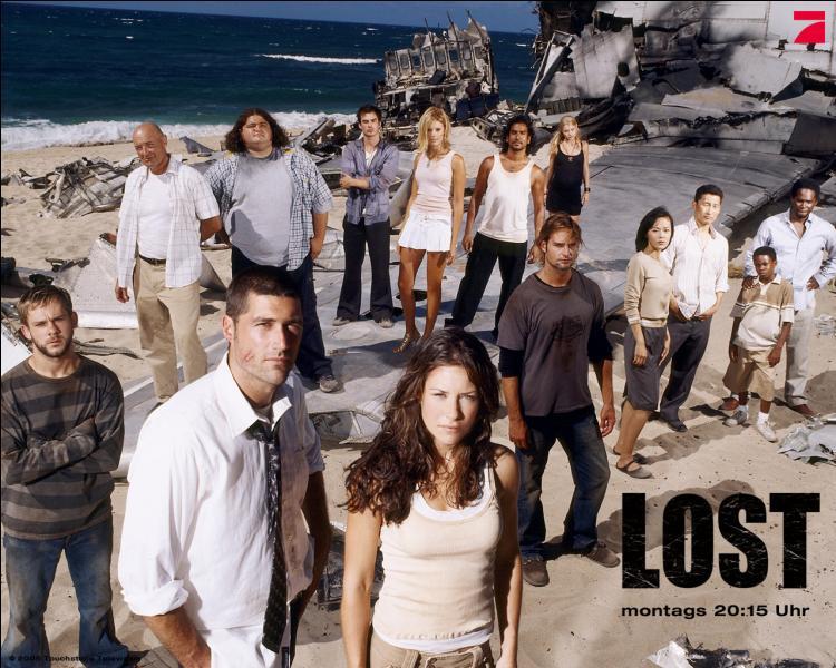 Dans  Lost , quel était le trajet de l'avion qui a explosé ?